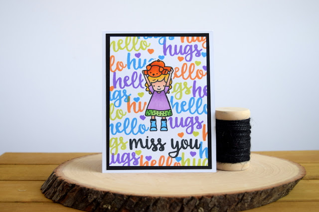 Miss You Cards by Jess Crafts featuring Neat and Tangled Better Together