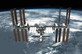 International Space Station At 400KM