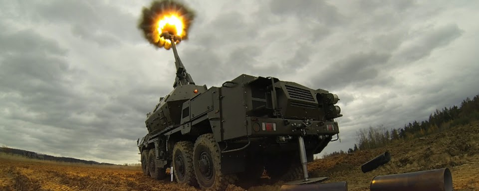 Відео випробувань чеської САУ Dana-M2 в Україні