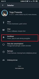 Cara Menghilangkan Pop Up Whatsapp 2
