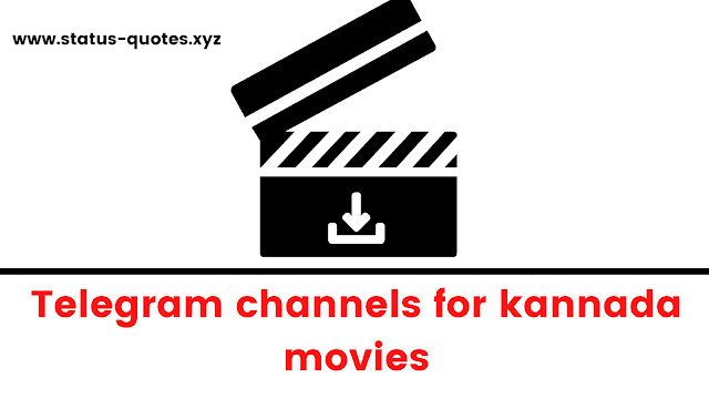 Kannada Movies Telegram Channels To Join 2021