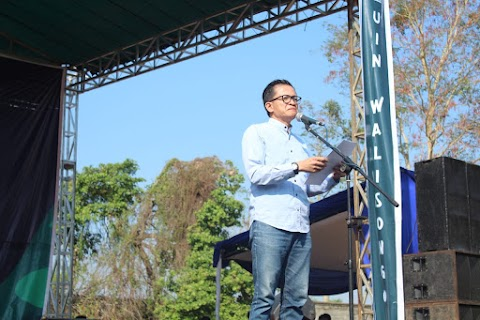 Usman Hamid Sampaikan Orasi Ilmiah Kemanusiaan dalam Acara PBAK 2019