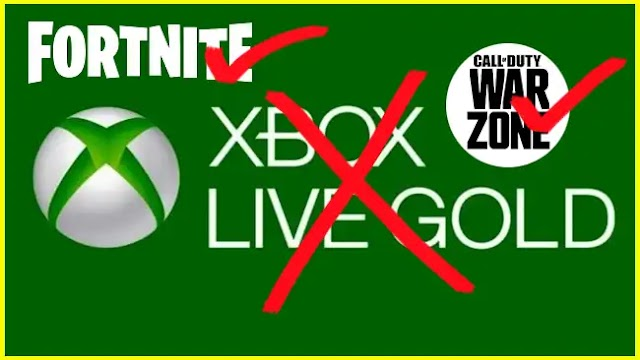 You can now play 'Warzone' and other 'free to play' games without paying Xbox Live Gold