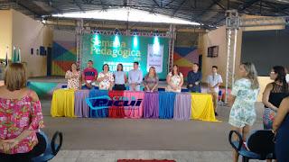 Governo da Participação abriu a Semana Pedagógica 2018, em Picuí.