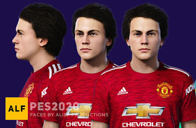 PES 2021 Faces Facundo Pellistri by Alief