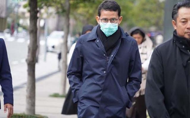 Pulang dari 3 Negara Kena Flu, Ini Alasan Sandiaga uno Belum Tes Covid-19