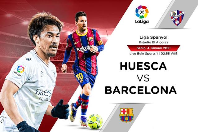Prediksi SD Huesca Vs Barcelona
