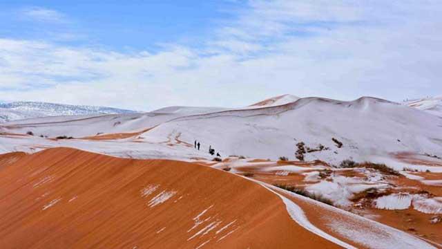 Di Sahara Pernah Ada Salju