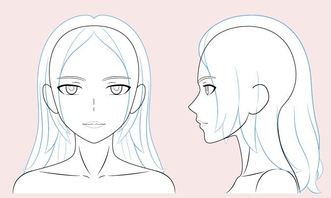 Gambar rambut wanita anime