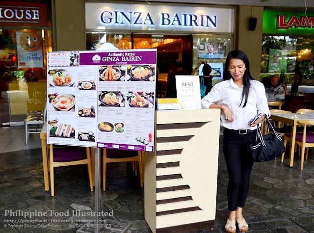 Ginza Bairin Trinoma Legacy of Ginza Bairin