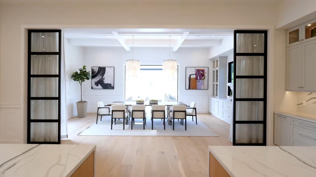53 Interior Design Photos vs. 17211 Rancho St, Encino, CA Luxury Modern Mansion Tour