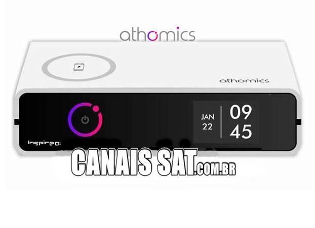 Athomics Inspire Qi Primeira Atualização V1.0.3 - 09/02/2021