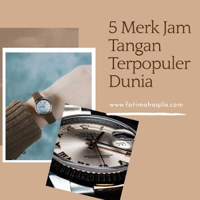 jam tangan terpopuler dunia