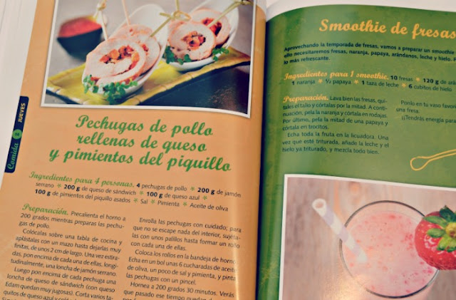 libro de cocina con recetas divertidas