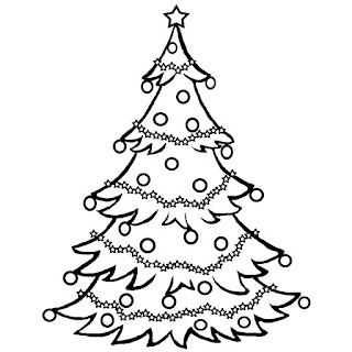 Merry Christmas Clip art black and white