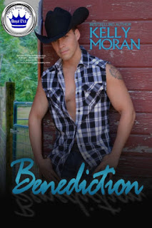 romance novel covers, contemporary romance, Royal Pick, Benediction by Kelly Moran
