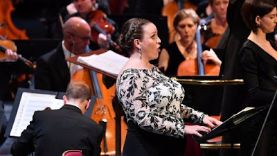 Janacek: Glagolitic Mass - Jennifer Johnston, Asmik Grigorian, BBC Symphony Orchestra - BBC Proms at the Royal Albert Hall (Photo Chris Christodoulou)