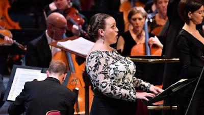 Janacek: Glagolitic Mass - Jennifer Johnston, Asmik Grigorian, BBC Symphony Orchestra - BBC Proms at the Royal Albert Hall (Photo Chris Christodoulou)