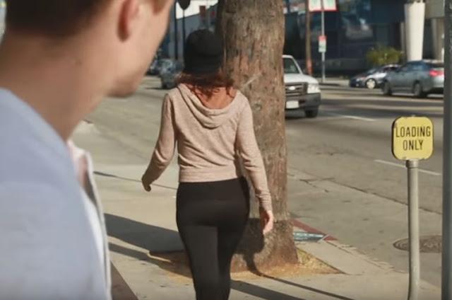Olhar outras mulheres na rua