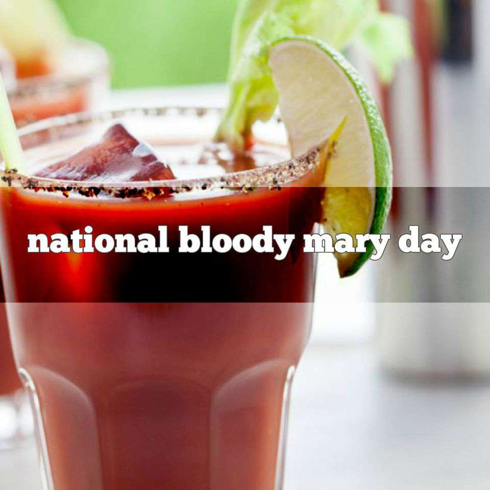National Bloody Mary Day Wishes pics free download