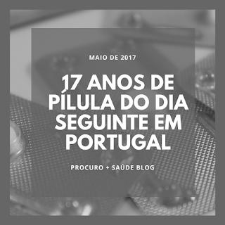 17 anos de pílula do dia seguinte em Portugal
