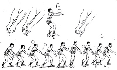 Teknik Passing Atas dan Pasing Bawah Bola Voli Beserta Latihannya