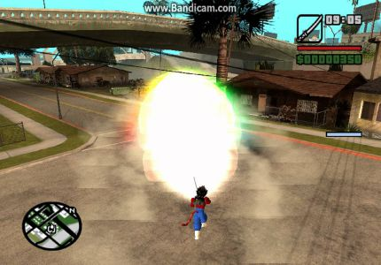 GTA San Andreas Goku Mod PC Game Free Download