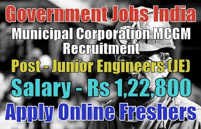 Municipal Corporation Recruitment 2019
