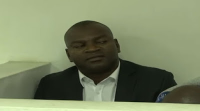 Ex-Sports Cs RAshid Echesa at JKIA Court. PHOTO | CAPITAL