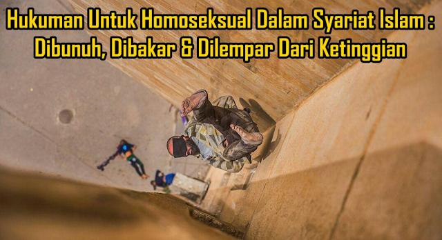 Inilah Hukuman Untuk Pelaku Homoseksual LGBT (Lesbian, Gay, Bisexual, Transgender)