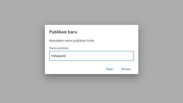 Dashboard Publisher Center Google