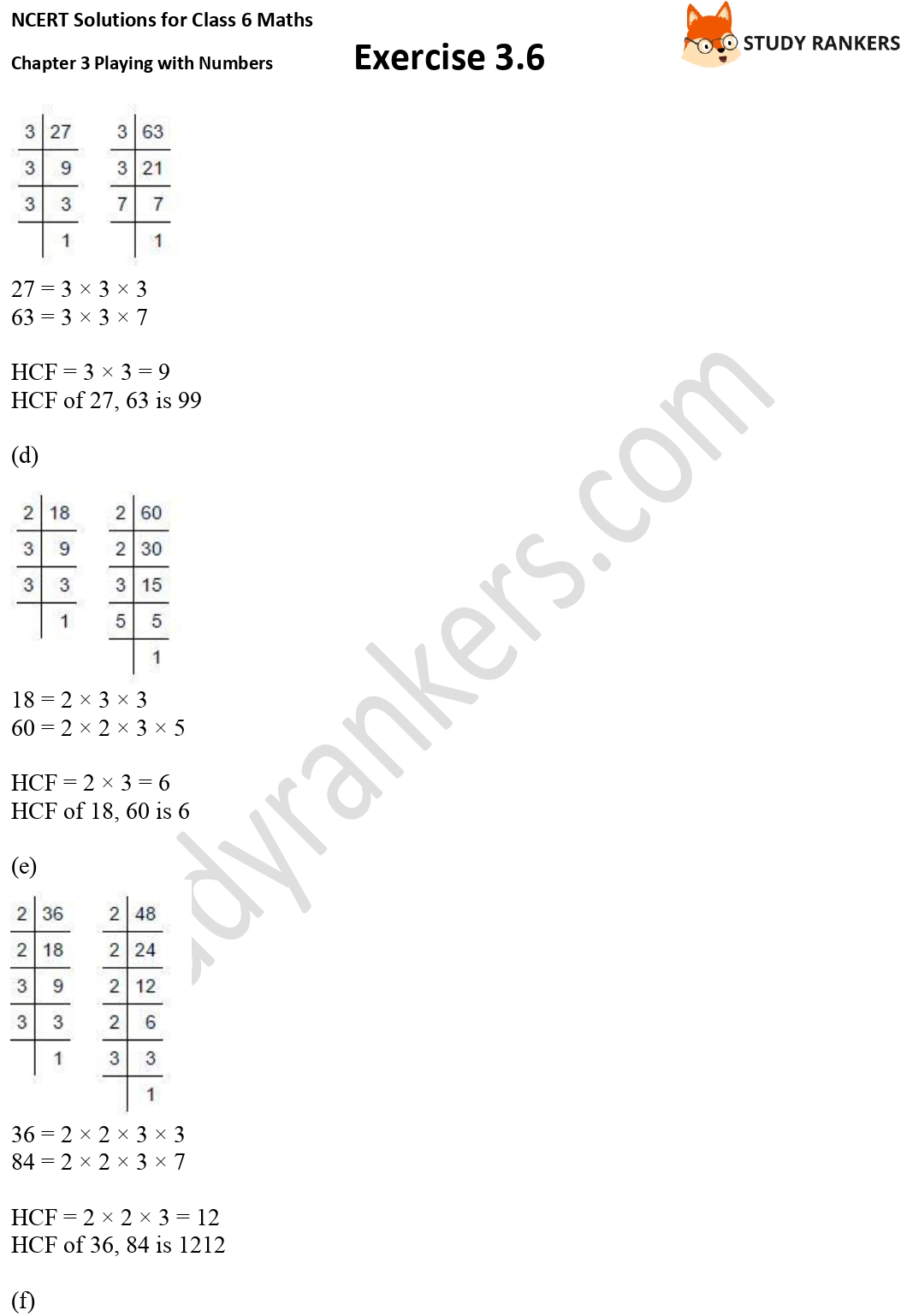 NCERT Solutions for Class 6 Maths Chapter 3 Playing with Numbers Exercise 3.6 Part 2