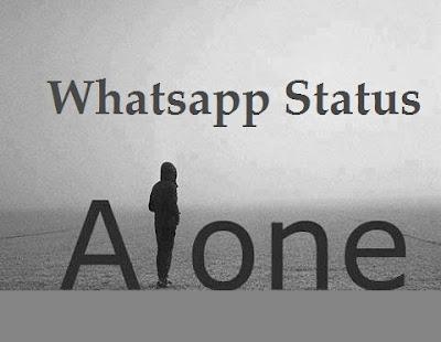 Alone Status in English