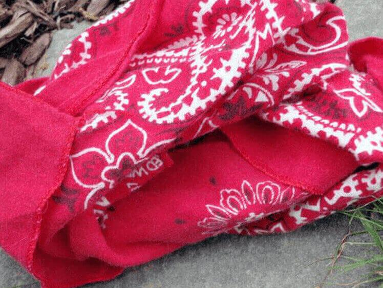 bandana-functie voor kamperen