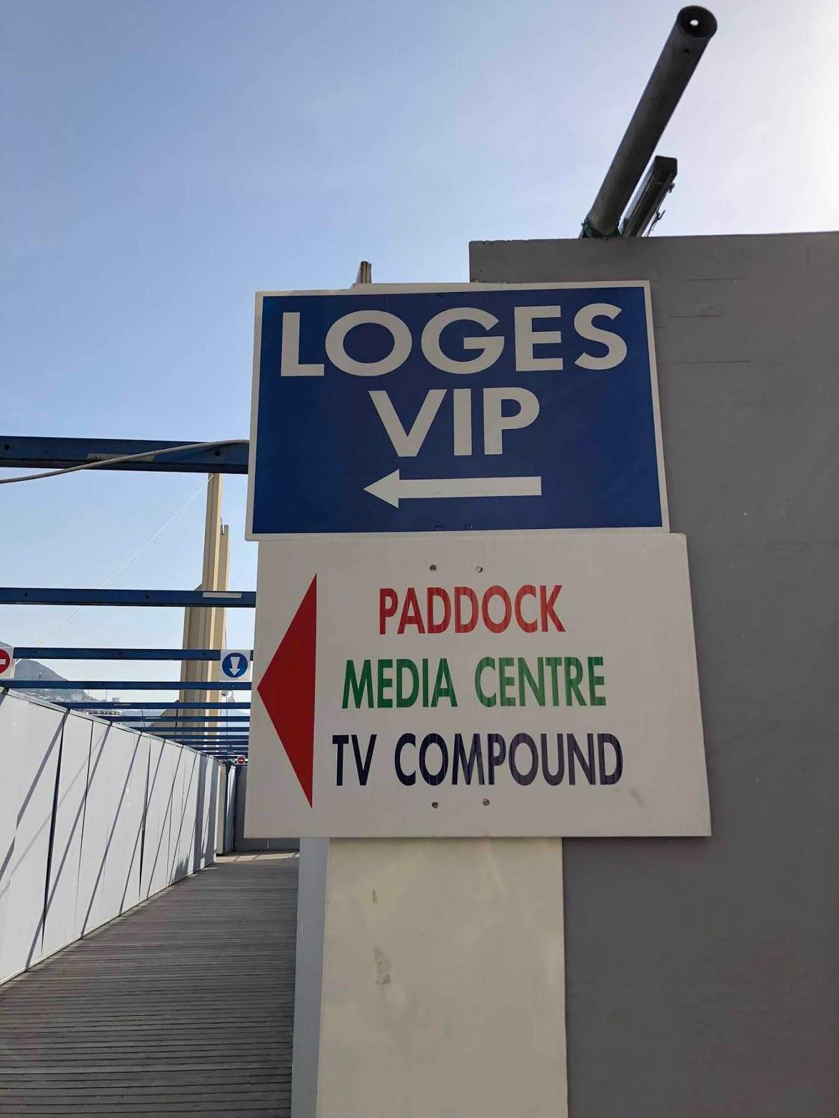 Käynti VIP-tiloihin