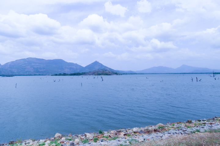 Beautiful Kandalama Lake, Sri Lanka