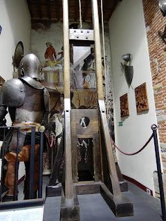 ルッカの拷問博物館入り口