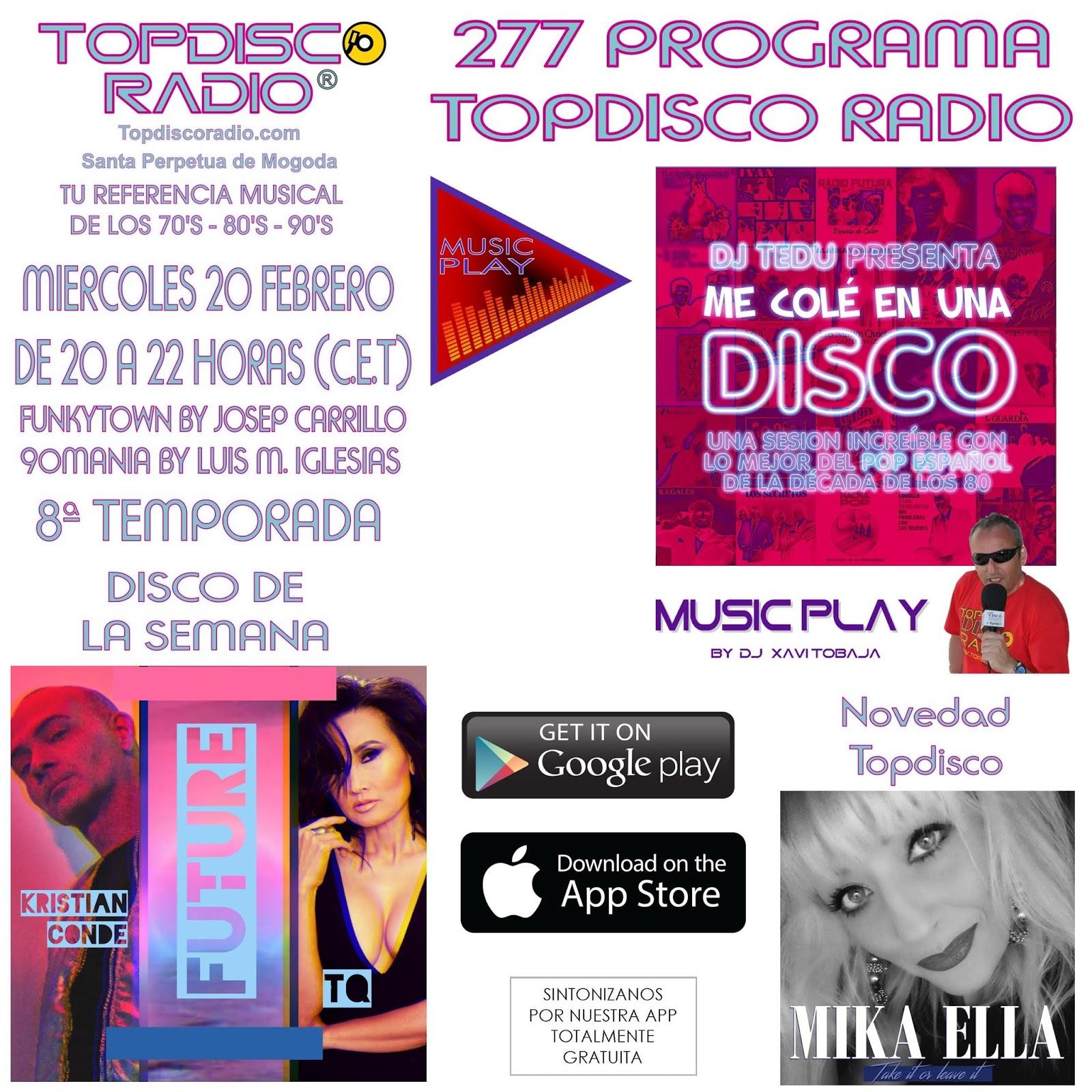 277 Programa Topdisco Radio