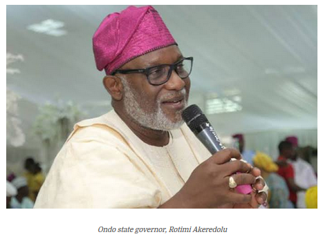 See Large Sum of Money Ondo State Government Found In Secret Account After 10 Years