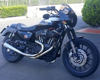 thunder sportster by hd speed shop firenze