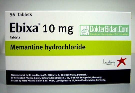 Memantine Hydrochloride Obat Anti Demensia - Dosis Indikasi Dan Efek Sampingnya Untuk Alzheimer