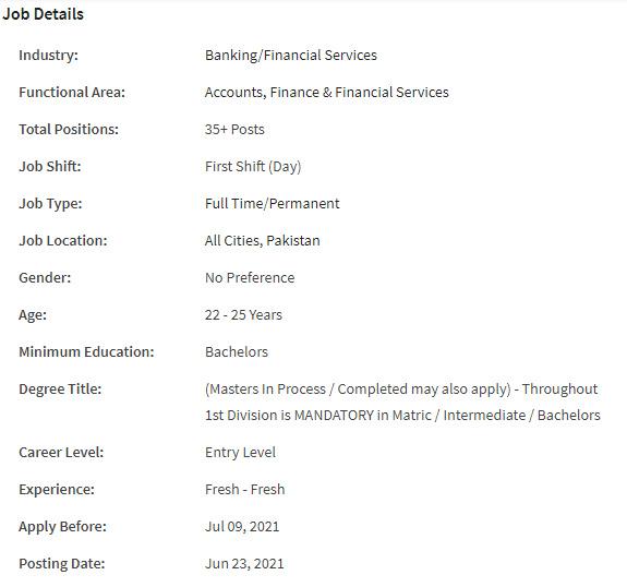 Graduate Trainee Officer (GTO) Jobs in Bank Al Habib Limited Pakistan in June 2021   Apply Online