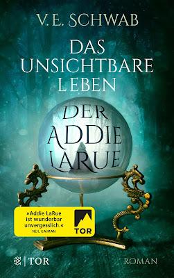 Waiting on Wednesday - Das unsichtbare Leben der Addie LaRue von V. E. Schwab