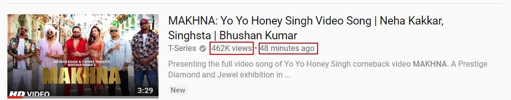Latest Song of Yo Yo Honey Singh | Makhna Song Lyrics - Yo