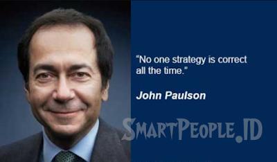 Motivasi Trader dari John Paulson