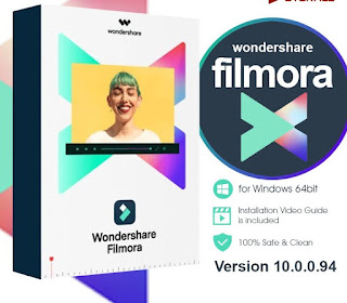 Wondershare Filmora X Full Version Video Editor For Windows  [Full Free]