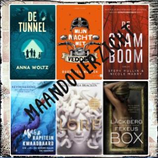 Blogpost van De boekenfabriek over gelezen boeken in september en verwachte titels in oktober 2021