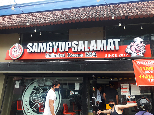 Samgyupsalamat branch Marikina Heights