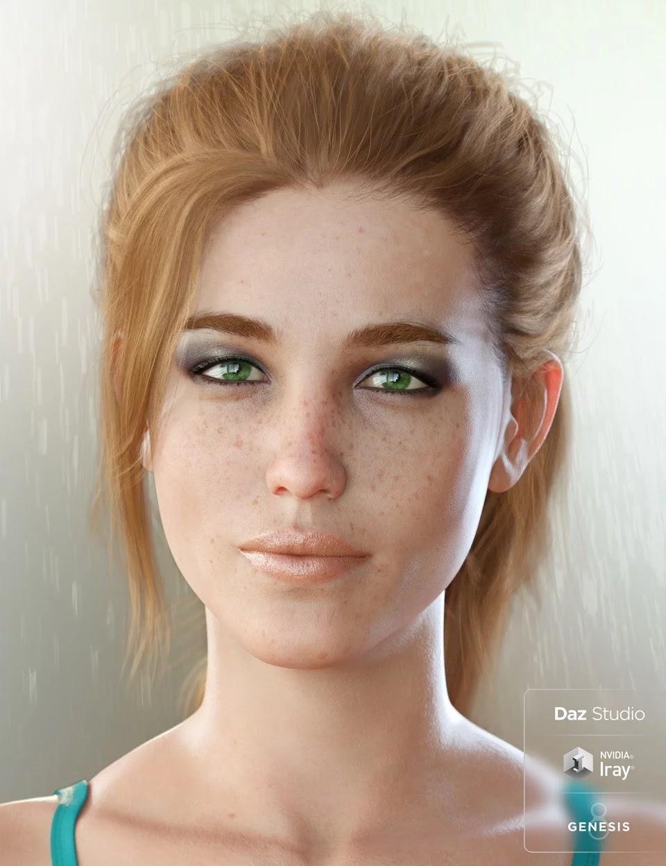 Poser and DAZ Studio 3D Models: Bridget 8|DAZ Studio and Poser Content