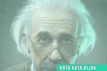 Kata Kata Bijak Albert Einstein yang Akan membuka Pikiranmu